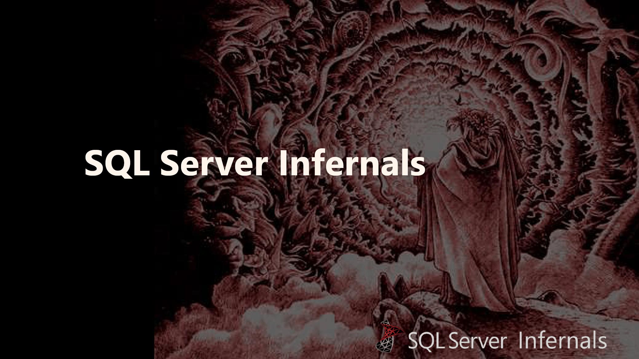 SQL Server Infernals – A Beginner's Guide to SQL Server Worst Practices